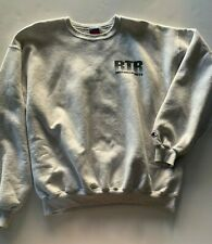 RTR Motorsports Ford Mens Gray Crewneck Sweatshirt XL Vintage Champion