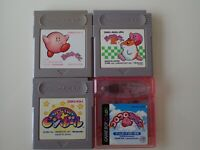 Nintendo GB  Kirby's Dream Land and pinball Tilt 'n' Tumble Lot Japan Game Boy