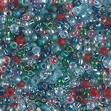8/0 Fancy Mix Miyuki Round Glass Seed Bead Mix 10 grams