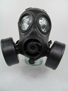 British Army X Police NBC CBRN Twin Port FM12 Respirator Gas Mask S10 Prepper K2
