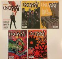 Near Complete Set Uncanny #1 2 3 4 5 Dynamite Comics (2013) VF/NM