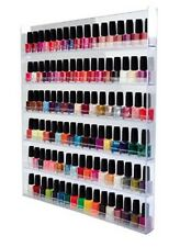 Nail Polish Collector Mini Bottles Wall Shelf Rack Hanging Display Case Acrylic