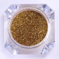 0.2G BORN PRETTY Mirror Nail Glitter Powder Dust Gold Chrome Pigment Tips Decor
