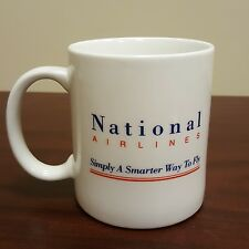 National Airlines Airplane Travel White Coffee Mug