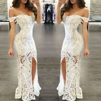 Sexy Women's Bodycon Strapless Evening Cocktail Dress Party Clubwear Ball Gown