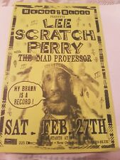 Lee Scratch Perry - House Of Blues - Feb 27th - 2010 - Flyer