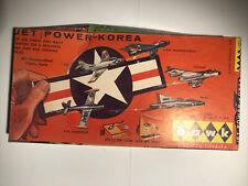 Vintage Rare Hawk Jet Powered Korea plastic model kot