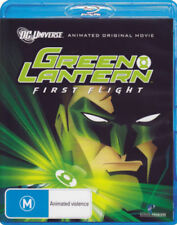 THE GREEN LANTERN - FIRST FLIGHT   -  BLU RAY -  Region B