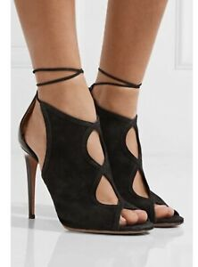100% Authentic Aquazzura Nomad Ladies Sandals Shoes Size 40 Brand New