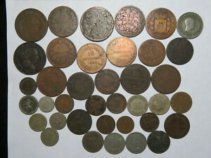 Better Date or Condition 19th Century World Coin Lot