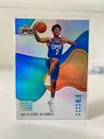 2018-19 PANINI STATUS SHAI GILGEOUS-ALEXANDER #156 ROOKIE RC - CLIPPERS