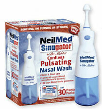 NeilMed Sinugator For Cordless Pulsating Nasal Wash