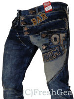 New Mens Bar of Denim Jeans, Barr Denim, Funky, Magic of Denim Style 4110 Dark