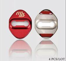Mazdaspeed Mazda3 Mazda6 CX3 CX5 Door Cover Plate Styling Accessories-Vivid RED
