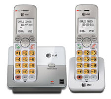 AT&T EL51203 DECT 6.0 EXPANDABLE CORDLESS PHONE WITH 2 HANDSETS