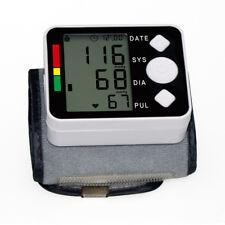 Digital Wrist style Blood Pressure Monitor Heart Beat Rate Pulse Meter Measure