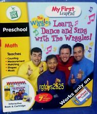 My First LEAP FROG Pad The Wiggles Interactive book Cartridge NEW Preschool 2004