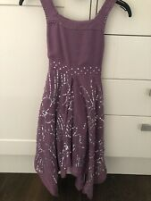 Monsoon Girls Sequin Party Dress Age 6-7years