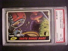 1962 Bubbles Mars Attacks #47 Earth Bombs Mars Psa-8 Nm-Mt