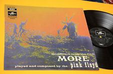 PINK FLOYD LP MORE 1°ST ORIG FRANCIA 1969 EX+ LABEL COLUMBIA NERA TOP RARE !!!!!