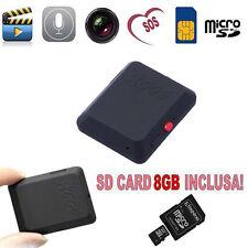 MICROSPIA AUDIO VIDEO GSM TELECAMERA CIMICE CON REGISTRAZIONE SU MICRO SD