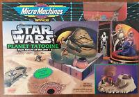 NEW! Vintage Star Wars Micro Machines Return of the Jedi Planet Tatooine 1994