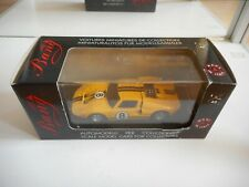 Bang Ford GT 40 Le Mans '66 #8 in Yellow on 1:43 in Box