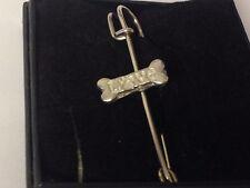 "Love Bones GT91 Pewter Scarf and Kilt Pin Pewter 3"" 7.5 cm"