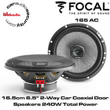 "Focal Access 165AC 16.5cm 6.5"" 2-Way Car Coaxial Door Speakers 240W Total Power"