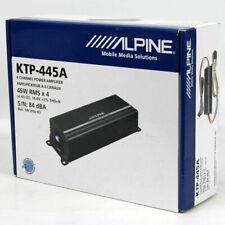 Alpine Ktp 445A 4 Canales Coche Vehículo Amplificador Sistema Sonido Audio