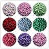 200 to 500pcs Mixed Alphabet/Letter Acrylic circular Beads 4x7mm