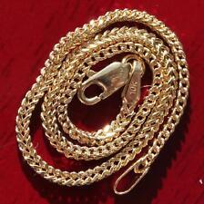 """link chain bracelet vintage 1.3gr 10kt yellow gold 7.0"""" Franco"""