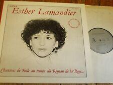 AL 11 Chansons de Toile au temps du Roman de la Rose / Esther Lamandier