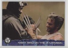 2003 Topps X-Men 2: United #32 Night Raid on the X-mansion Non-Sports Card 1k3