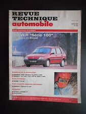 Revue technique automobile n°549 03/1993 Rover Série 100