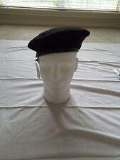 Genuine  U.S. Military Surplus Wool Beret - Bancroft Cop Company - Black 73/8