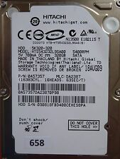 320GB Hitachi HTS543232L9SA00   P/N: 0A57357   MLC: DA2387   18 AUG 2009 #658