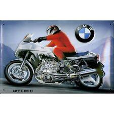 BMW K100RS tagliato MOTOCICLETTA MOTO D'EPOCA MEDIO 3D metallo goffrato firmare