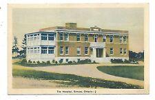 Norfolk County SIMCOE ONTARIO The Hospital