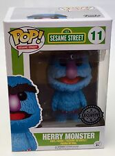 Sesame Street-Herry monstruo Exclusivo Funko Pop Vinyl