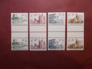 2 x GB 1988 Castles Stamps to £5~4 Values ~Unmounted Mint~UK Seller