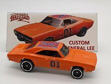 Hot Wheels Custom Dukes of Hazzard General Lee 1969 Dodge Charger - Silver Rims