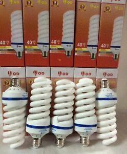 27W=140W FS White light,CFL Lightbulb,Energy Saving Bulbs E27 TEN LAMPS £24.99