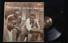 Lionel Hampton/Art Tatum/Buddy Rich Trio-Clef 709-MONO