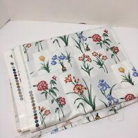 "1.75 Yards Floral Home Dec Fabric 54"" wide 5th Avenue Designs Cotton"