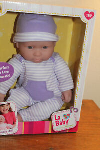 """JC Toys Designed by Berenguer 16"""" Loveable Soft Body Baby Doll - Caucasian"""