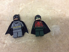 LEGO Batman 76034 Batman Robin Minifigures W/ Jumper Fr/ Harbor Pursuit Set