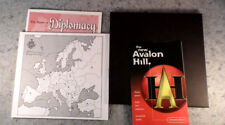 Avalon Hill Diplomacy Game Parts/Instruction Book, Board, and Pad (C6B5)