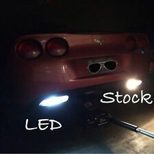 2005-2013 c6 Corvette LED Reverse Lights (Plug-N-Play) (18 diodes)