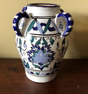 Tunisian Pottery Vase           #65